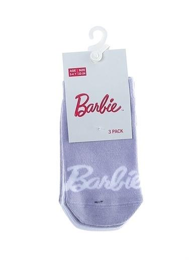 Barbie Patik Çorap Lila